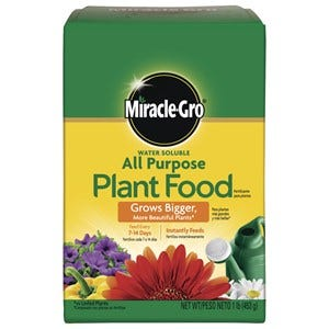 Miracle-Gro All Purpose Powder Plant Food 1 lb.