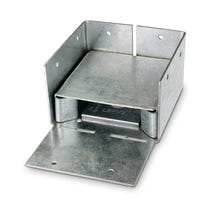 ABW ZMAX® Galvanized Adjustable Standoff Post Base for 4x4