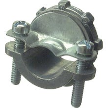 Image 2 of Halex 05107B Clamp Connector, 3/4 in, Zinc
