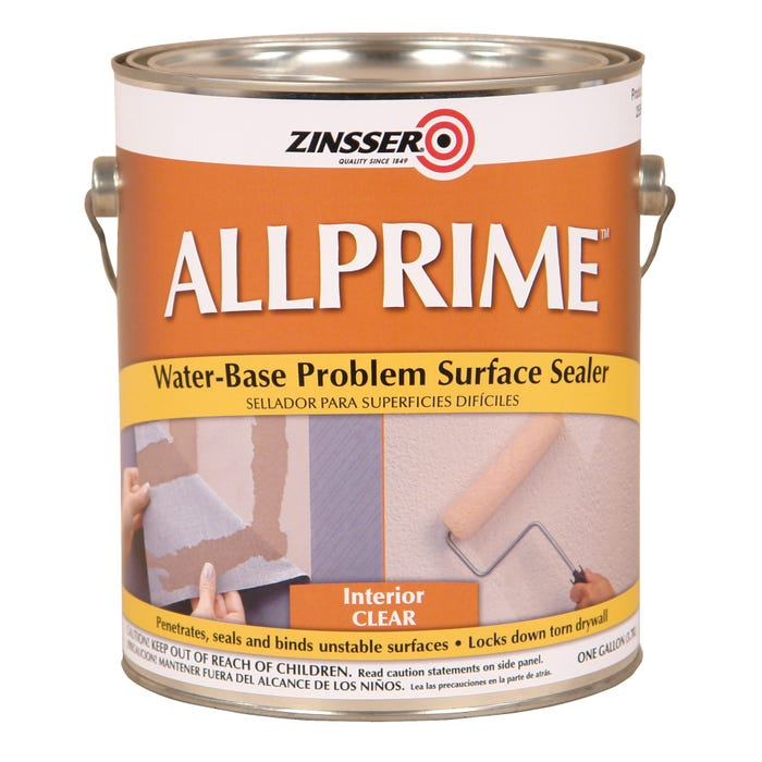 Zinsser Allprime Problem Surface Primer, Gallon