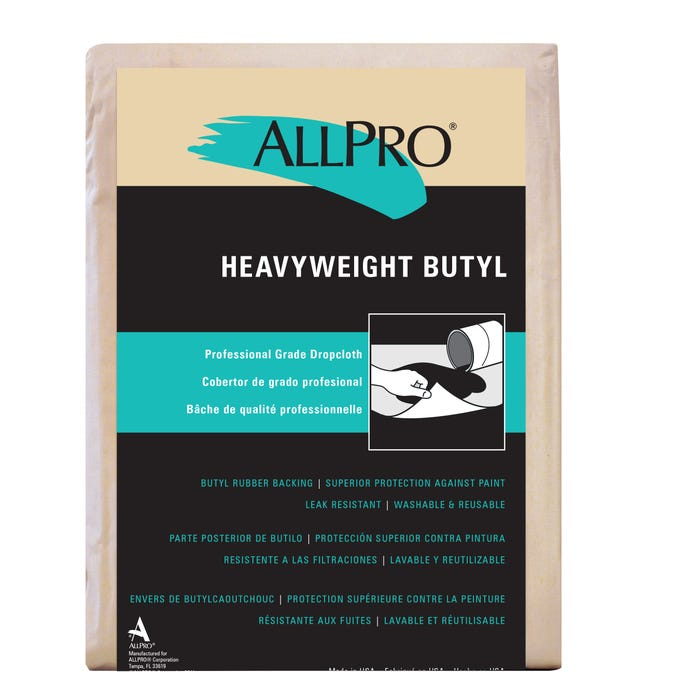 BUTYL DROP CLOTH 9'X12'