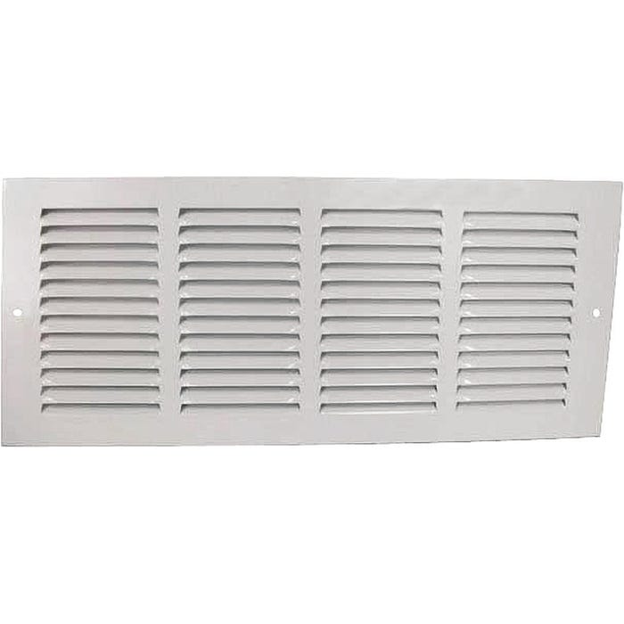 Image 2 of Worldwide Sourcing Return Air Grille, 6 In H X 14 In W, Steel, White