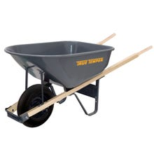 Image 2 of TRUE TEMPER R625 Wheelbarrow, 6 cu-ft Heap, 6 cu-ft Volume, Steel