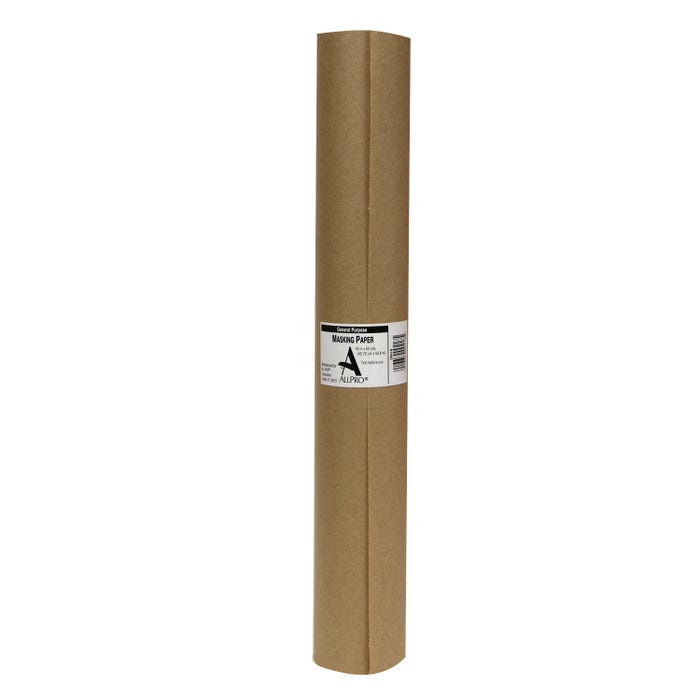 ALLPRO General Purpose Masking Paper, Brown, 18 in. x 60 yds.