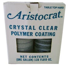 Aristocrat Liquid Glass Kit, Clear, Gallon