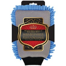 Image 2 of SM ARNOLD 25-332 2-In-1 Wash Mitt, 10-1/2 in L, 7-1/2 in W, Microfiber Cloth