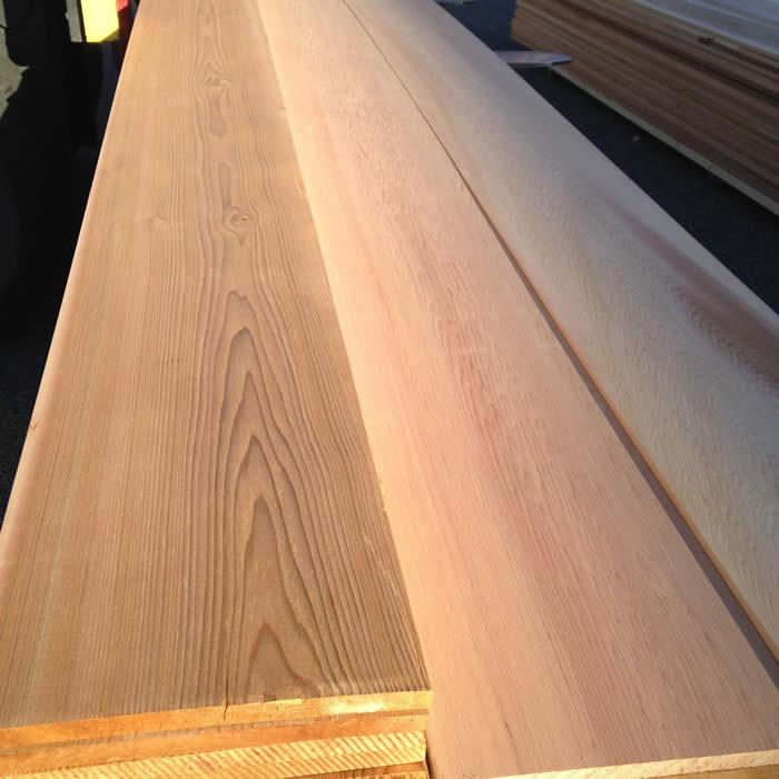 1 x 10 A & BTR. Western Red Cedar VG Boards S1S-2E