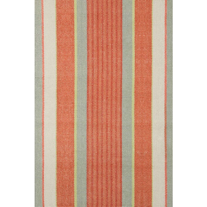 Dash & Albert Autumn Stripe Woven Cotton Rug