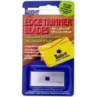 Image 1 of Band-It 25233 Replacement Single Bevel Edge Trimmer Blade, For Use With 33437 Edge Trimmer, 1/64 X 3/4 X 1-3/4 in Size