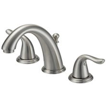 Image 2 of Boston Harbor Lavatory Faucets, Two Handle Widespread, Br. Nickel
