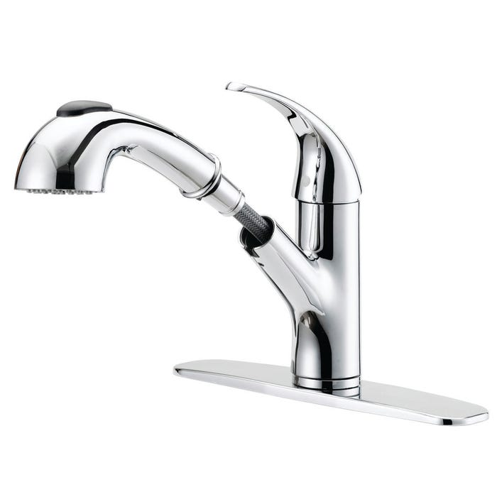Image 2 of Boston Harbor Kitchen Faucet, 1.75 Gpm At 60 Psi, 1 Durable Metal Lever Handle, 5-3/16 In H Spout, 42591 In