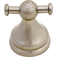 Image 2 of Boston Harbor L5053-13B-10-3L Garment Robe Hook, Zinc, Nickel Brass