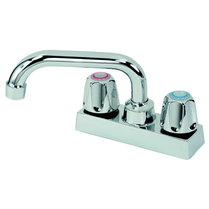 Image 2 of B & K 225-503 Laundry Faucet, Metal, Chrome