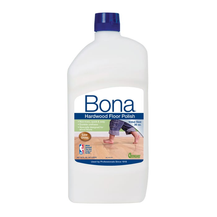 Bona Hardwood Floor Polish, Low Gloss, 36 oz.