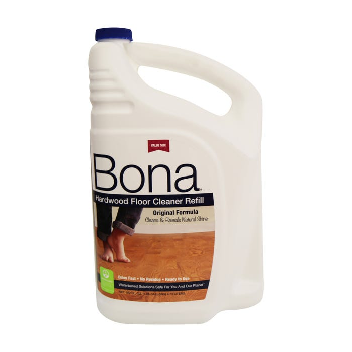 BONA HARDWOOD FLOOR CLEANER REFILL 1.25 GALLON