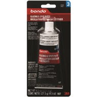 Image 1 of Bondo 907 Glazing and Spot Putty, Liquid, Paste, Red, 4.5 fl-oz Tube