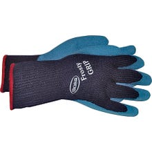 Image 2 of BOSS Frosty GRIP 8439X Protective Gloves, XL, Knit Wrist Cuff, Acrylic Glove, Blue