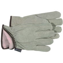 Image 1 of Boss 7179J Gunn Cut Driver Gloves, XL, Thinsulate Lining, Split Cowhide Leather, Gray
