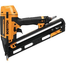 Image 2 of Bostitch BTFP72156 Finish Nailer Kit, 1/4 in Air Inlet, 129 Magazine, 1-1/4 to 2-1/2 in Fastener