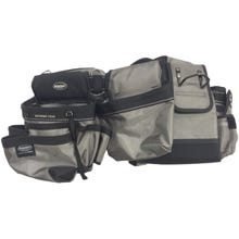 Image 2 of Bucket Boss 55135 Mullet Buster Suspension Rig, 52 in Waist, 29-Pocket, Poly Fabric, Gray