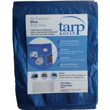 All Purpose Blue Poly Tarp