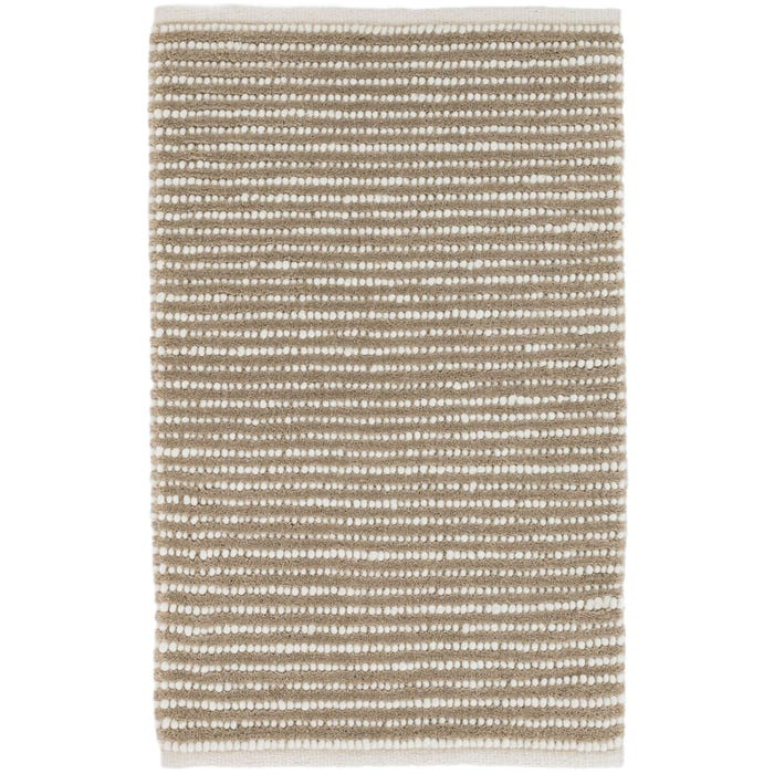 Dash & Albert Brushed Stripe  Woven Wool Rug