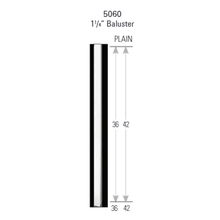 Image 1 of Crown Heritage 1¼ in. x 36 in. Primed Baluster, Square, C50650-36