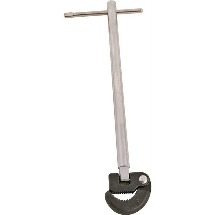 Image 1 of ProSource Basin Wrenches, Carbon Steel , Reversible Jaw, 11 In