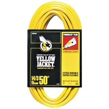 Image 2 of CCI 2887 Extension Cord, 14 AWG, Yellow Jacket, 50 ft L