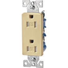 Image 2 of Eaton Wiring Devices TR1107V-BOX Duplex Receptacle, 15 A, 2-Pole, 5-15R, Ivory
