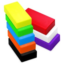 Image 2 of Magnet Source 07278DSP Magnetic Counter Display, Black/Green/Orange/Purple/Red/White/Yellow