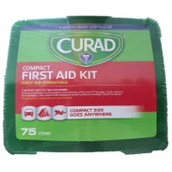 Image 1 of CURAD CURFAK200RB Compact, Latex-Free First Aid Kit, 75-Piece