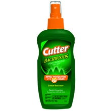 Image 2 of Cutter BACKWOODS HG-96284 Insect Repellent, 6 fl-oz Bottle, Liquid, Pale Yellow, Alcohol, Deet