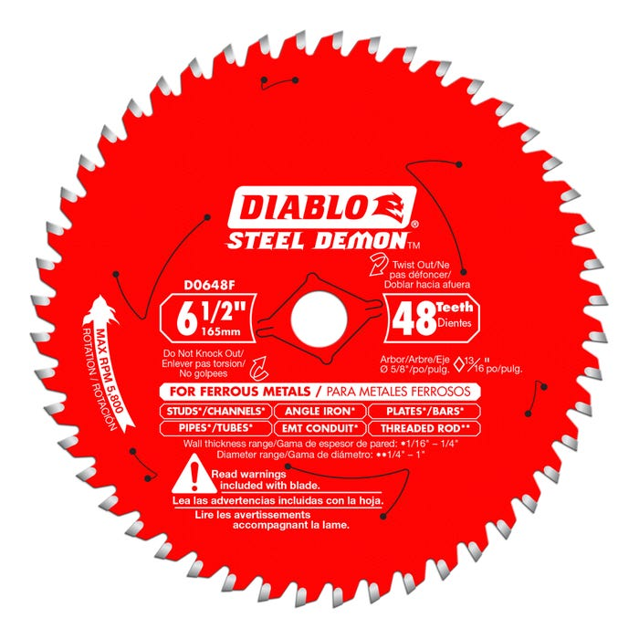 Diablo Steel Demon Metal Cutting Saw Blade