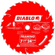 Diablo 7-1/4 in. x 24 Tooth Framing Saw Blade