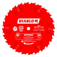 Diablo 10 in. x 24 Tooth Ripping Saw Blade