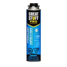Image 1 of Dow 187273 Foam Sealant, Yellow, 20 oz Can