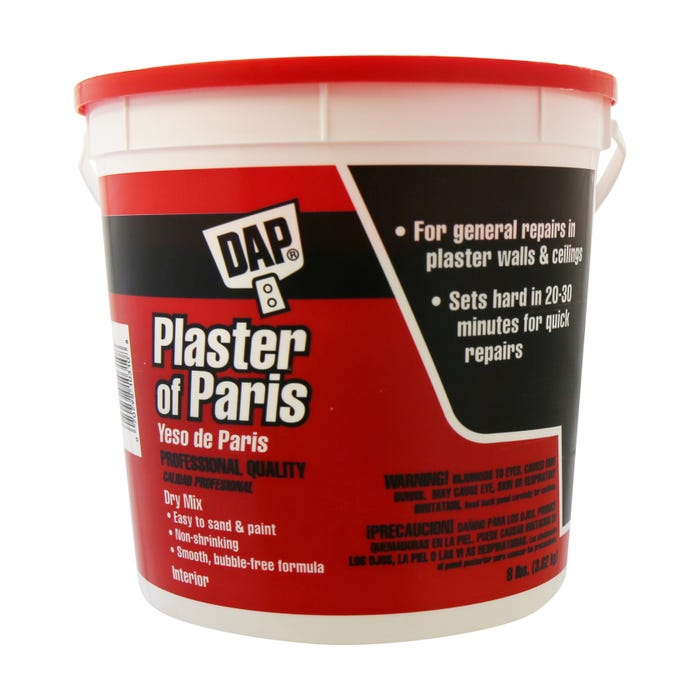 10310 8 LB WHITE DAP PLASTER OF PARIS E/M
