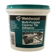 Weldwood Mulit-Purpose Ceramic Tile Adhesive, Quart