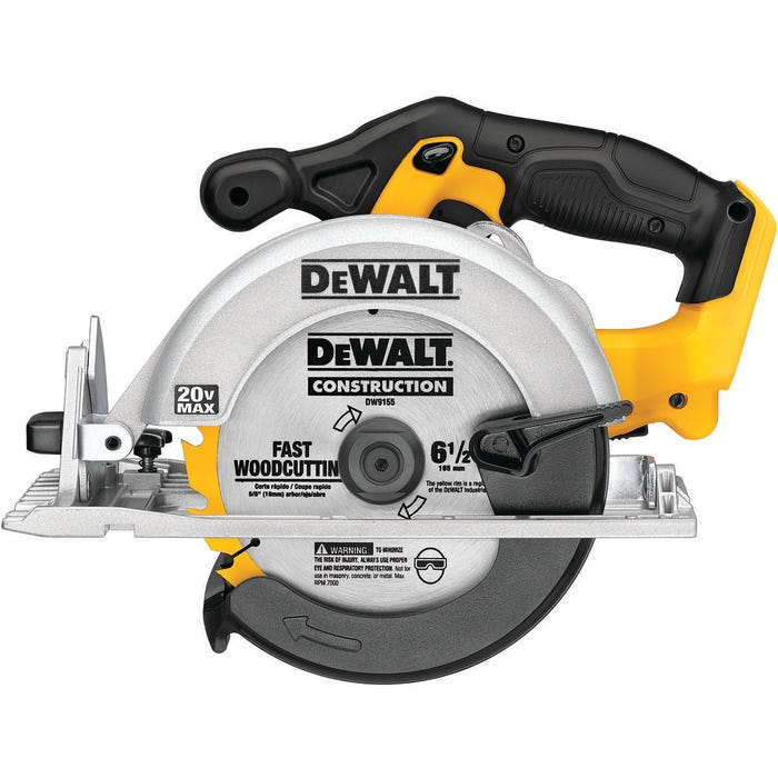 Image 2 of DeWALT DCS391B Circular Saw, Bare Tool, 20 V Battery, Lithium-Ion Battery, 6-1/2 in Dia Blade