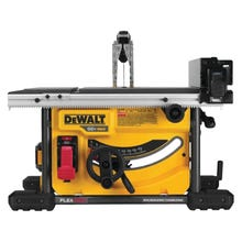 Image 1 of DeWALT FLEXVOLT DCS7485T1 Table Saw, 60 V, 12 in Rip Left, 24 in Rip Right Cutting, 8-1/4 in Dia Blade