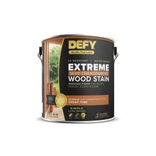 Image 2 of DEFY Extreme Water-based Wood Stain - Driftwood Gray, Gallon