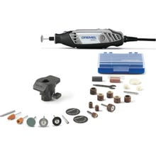Image 2 of DREMEL 3000-1/24 Rotary Tool Kit, 120 V, 1/32 to 1/8 in Chuck, 6 ft L Cord, Gray