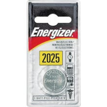 Image 2 of Energizer ECR2025BP Coin Cell Battery, CR2025 Battery, Lithium, Manganese Dioxide, 3 V Battery