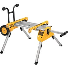 Image 2 of DeWALT DW7440RS Rolling Table Saw Stand, 200 lb Weight Capacity, Aluminum, Black/Yellow