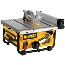 DeWALT DWE7480 Table Saw, 120 V, 12 in Rip Left, 24 in Rip Right Cutting, 10 in Dia Blade