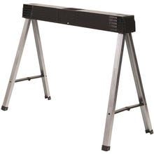 Image 1 of STANLEY FATMAX STST11151 Fold Up Sawhorse, 800 lb Weight Capacity, Metal/Polypropylene