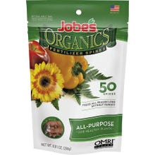 Image 2 of Jobes Organic All Purpose Fertilizer Spike Pack, 50 Count