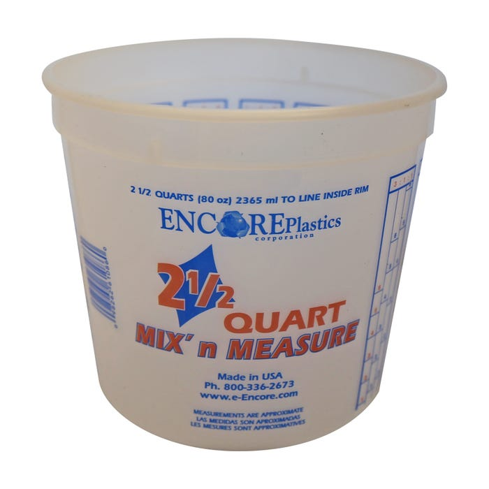 2.5 QUART MIX N MEASURE CONTAINER