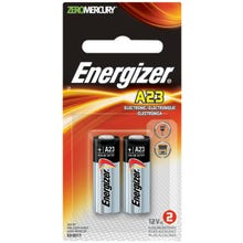 Image 2 of Energizer A23 Series A23BPZ-2 Alkaline Battery, Manganese Dioxide, 12 V Battery